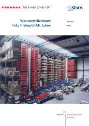 Warenverteilzentrum Fritz Frieling GmbH, Lohne - Viastore Systems ...