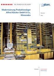 Modernisierung Produktionslager Alfred Kärcher GmbH & Co ...