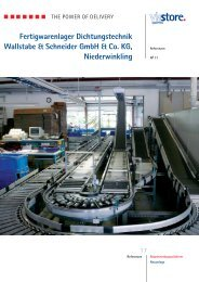 Wallstabe & Schneider GmbH & Co. KG - Viastore Systems GmbH