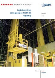 Logistikzentrum Verlagsgruppe Weltbild, Augsburg - Viastore ...