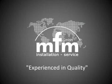 """Experienced in Quality"" - AHK Mexiko"