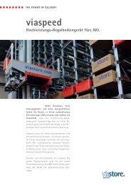Viaspeed 4-Seiter.indd - Viastore Systems GmbH