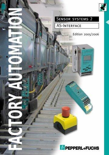 Sensor systems 2 AS-Interface