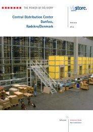 Central Distribution Center Danfoss, Rødekro ... - Viastore Systems