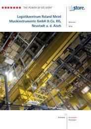 Logistikzentrum Roland Meinl Musikinstrumente GmbH & Co. KG ...