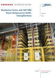 Distribution Center with SAP TRM Kaeser Kompressoren ... - viastore