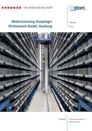 Modernisierung Hauptlager Dichtomatik GmbH, Hamburg - Viastore ...