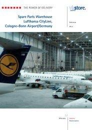 Spare Parts Warehouse Lufthansa CityLine ... - ViaStore Systems