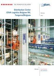 Distribution Center CEVA Logistics Belgium NV, Tongeren/Belgium