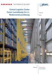 Central Logistics Center Curver Luxembourg S.ŕ r.l. ... - viastore