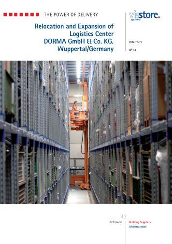DORMA GmbH & Co. KG - ViaStore Systems