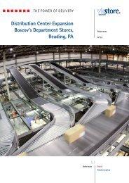 Distribution Center Expansion Boscov's ... - ViaStore Systems