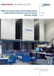 AS/RS to provide high-volume kitting system ... - ViaStore Systems