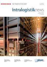 intralogistiknews - Viastore Systems GmbH
