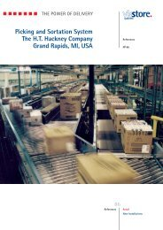 Picking and Sortation System The H.T. Hackney ... - ViaStore Systems