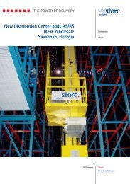 New Distribution Center adds AS/RS IKEA ... - ViaStore Systems