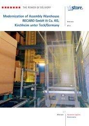 Modernization of Assembly Warehouse ... - Viastore Systems