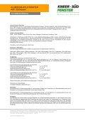 ALUMINIUM-HOLZ-FENSTER AHF 105 Modern - Fenster Koch - Page 3