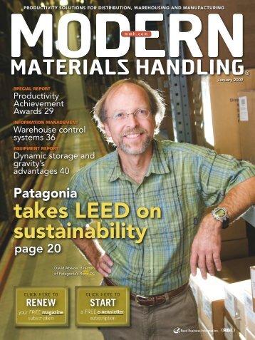 January - Modern Materials Handling
