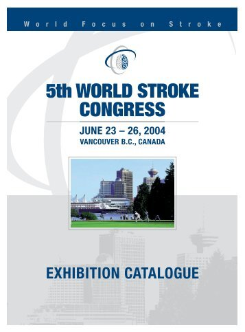 5th WORLD STROKE CONGRESS - Kenes
