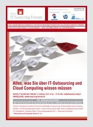 Alles, was Sie über IT-Outsourcing und Cloud Computing wissen ...