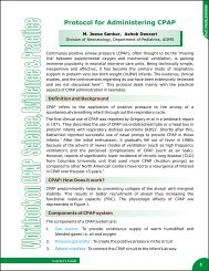 Protocol for Administering CPAP - New Born Baby