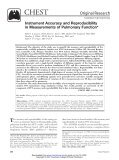 Measurements of Pulmonary Function Instrument Accuracy - ndd.ch - Page 2