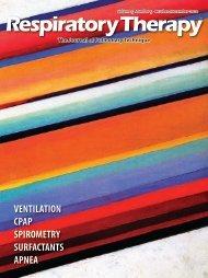 ventilation cpap spirometry surfactants apnea - Respiratory Therapy ...