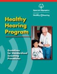 Healthy Hearing Program - Special Olympics