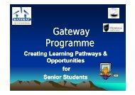 Gateway Programme