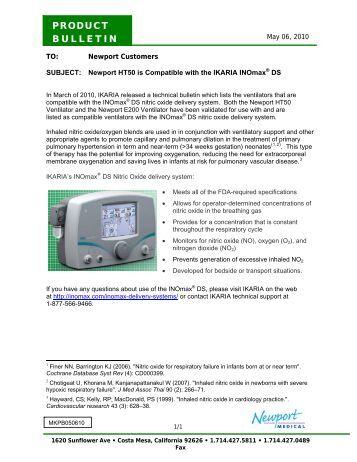 Introducing Newport Ht70 174 Ventilator Medicare Technics