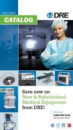 Print Catalog - DRE Medical Equipment