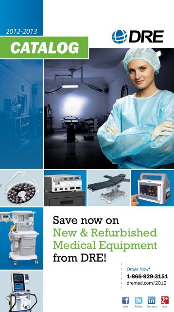 Print Catalog - DRE Medical Equipment