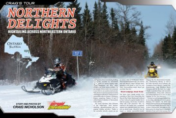 Northeastern Ontario - Intrepid Snowmobiler