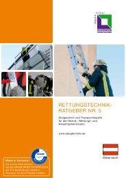 rettUnGStechnik- rAtGeber nr. 5