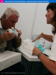 lung function testing equipment - European Respiratory Society