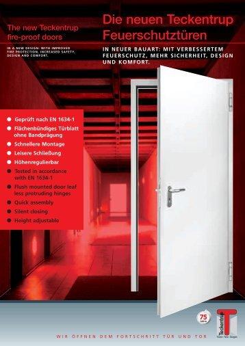 Die neuen Teckentrup Feuerschutztüren