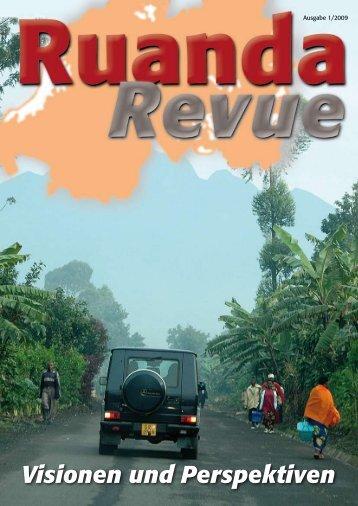 Visionen und Perspektiven - Partnerschaft Rheinland-Pfalz-Ruanda ...