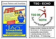 Saison 12/13, Heft 5 - TSG 08 Roth