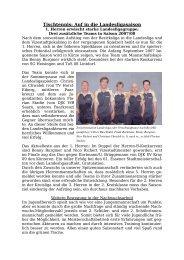 Tischtennis: Auf die Landesligasaison - MTG Horst