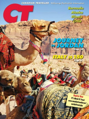 JouRNEy To JoRDAN ITALy Is 150 - Canadian Traveller
