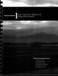 Contents - Salt Lake City International Airport