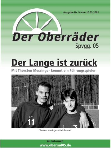 Der Oberräder - Spvgg. 05 Frankfurt-Oberrad