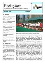 Hockeyline - Deutscher Hockey Bund e.V.