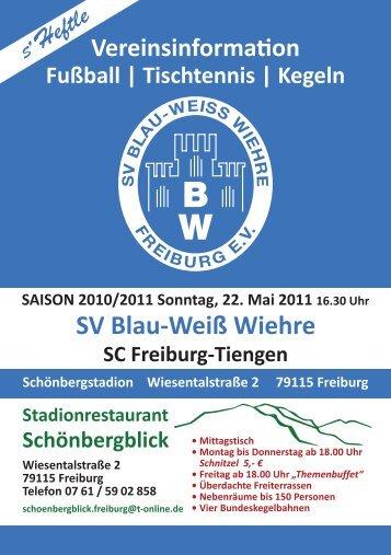 Tischtennis   Kegeln - SV Blau-Weiss-Wiehre