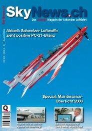 Special: Maintenance- Übersicht 2008 Aktuell ... - SkyNews.ch