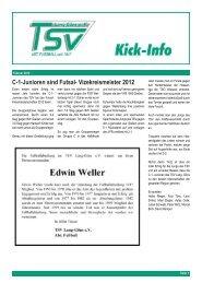 Ausgabe Februar 2012 - fussball@tsvlanggoens.de - TSV Lang-Göns
