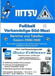 Ausgabe 59 - mtsv- Fussball in Hohenwestedt