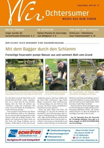 Ausgabe 09/2011 - Wir Ochtersumer