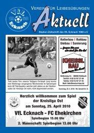 VfLAktuell_14_09/10_4c - VfL Ecknach